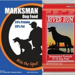 Marksman and River Run dog foods