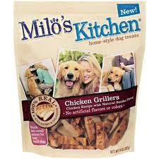 Milos chicken jerky